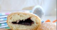 Ντόνατς γεμιστά με Μερέντα στο φούρνο ή στο τηγάνι