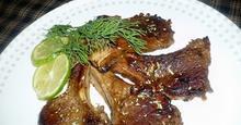 Παϊδάκια Αρνίσια με Σπιτική Σάλτα BBQ