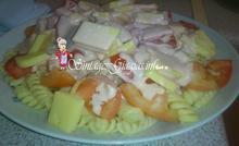 Σαλάτα με βίδες και μαγιονέζα (di pasta)  