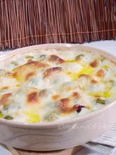 Λαχανάκια Βρυξελλών ογκρατέν με γιαούρτι, τυριά & μπέϊκον !! 12:00:00 π.μ.