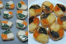 Πιτάκια φούρνου τριών γεύσεων - Συνταγές Μαγειρικής - Chefoulis