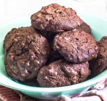 Μπισκότα φουντούκι σοκολάτα