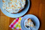 Κέικ πορτοκαλιού με κουρκουμά, της Gourmelita