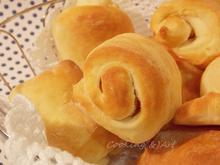 Αφράτα ρολλάκια ψωμιού