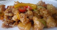 Ψάρι Κινέζικο Γλυκόξινο ( Sweet and Sour Fish)
