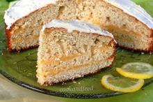 κέικ με κρέμα λεμονιού/Lemon Cream Cake