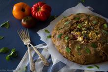 Heirloom Tomato & Pesto Galette – Galette με Παραδοσιακές Τομάτες και Πέστο - The Healthy Cook