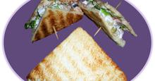 Σάντουιτς με σαλάτα κοτόπουλου!