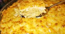 Mac And Cheese αλά Ελληνικά της Μαμάς μου (Ογκρατέν με τυριά και μακαρόνια) My Mom's Greek Mac&Cheese