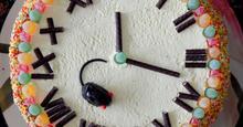 Τούρτα παλιό ρολόι
