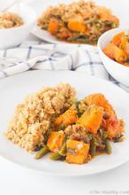 Spicy Pumpkin with Almond Quinoa – Πικάντικη Κολοκύθα με Κινόα - The Healthy Cook