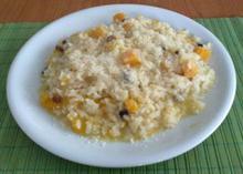 Ριζότο με κίτρινη κολοκύθα