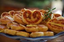 Palmier μπισκότα σφολιάτας – γλυκά ή αλμυρά