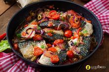 Haraymi - Ψάρι στο τηγάνι με λεμόνι, ντομάτα και μπαχαρικά από τη Λιβύη