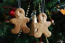 Χριστουγεννιάτικα μπισκότα στολίδια