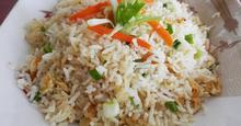 Τηγανητό Ρύζι με Σκόρδο (Garlic Fried  Rice)