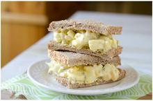 Σάντουιτς με αυγά