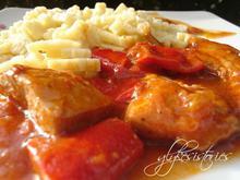 Γλυκόξινη σάλτσα με κόκκινη πιπεριά Φλωρίνης!