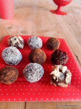 Υπέροχα τρουφάκια με παπάγια- Raw papaya truffles