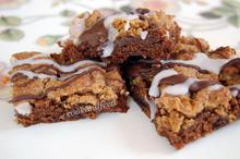 crumb cake brownies