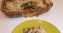 Τεμπέλικη Σπανακοτυρόπιτα Greek Easy Spinach pie