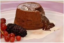 Κέικ σοκολάτα... λάβα