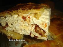 Πίτα με ανθότυρο και λιαστή ντομάτα