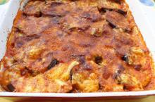 Baked eggplants - Recipes - Chefoulis