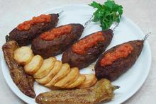 Turkish eggplant stuffed meatballs - Recipes - Chefoulis