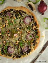 Πίτσα με κιμά μανιταριών κ giveaway!