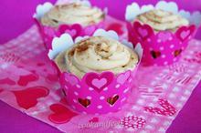 Cupcakes εσπρέσσο με κρέμα mascarpone/Espresso Cupcakes with Mascarpone cream