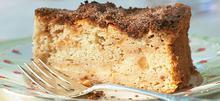 Κέικ με κανέλα και μήλο