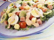 Σαλάτα του σεφ (με μαρούλι)
