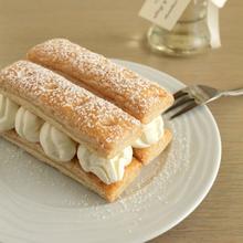 Μιλφέιγ με κρέμα λευκής σοκολάτας και άρωμα μαστίχας - The one with all the tastes