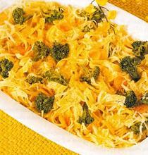 Λαζανάκι με μπρόκολο και τυριά