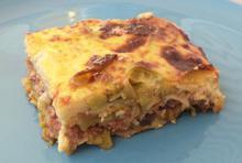 Μουσακάς με ταλιατέλες - Συνταγές Μαγειρικής - Chefoulis