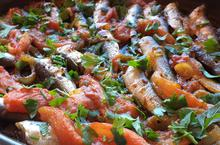 Σαρδέλες πλακί με ούζο - Συνταγές Μαγειρικής - Chefoulis
