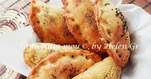Τυροπιτάκια με Σπιτική Ζύμη Μεσογειακή Γέμιση – Cheese Pies with Homemade Dough and Mediterranean Filling