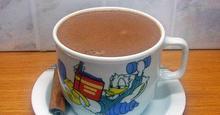 Ζεστή σοκολάτα ρόφημα