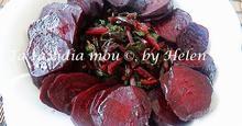 Παντζάρια Ψητά Σαλάτα  – Baked Beet Salad