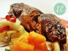 Ψητό Αρνάκι με Ρόδι και Πετιμέζι - Funky Cook