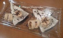Τάρτα μπισκότου με κρέμα λεμονιού |