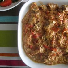 Μοσχάρι με κόκκινες πιπεριές, πάπρικα και γιαούρτι - The one with all the tastes