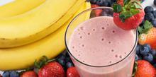 Συνταγή: Smoothie με φράουλες και μπανάνα