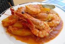 Πατάτες γιαχνί με γαρίδες - Συνταγές Μαγειρικής - Chefoulis
