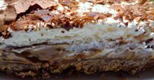Σοκολατένια Τάρτα με Καραμέλα Κρέμα Μπισκότα Γεύση που δεν περιγράφετε !!!!!