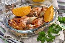 Κοτόπουλο φούρνου με πορτοκάλι - Συνταγές Μαγειρικής - Chefoulis
