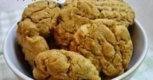 Cookies με φυστικοβούτυρο και διπλή σοκολάτα