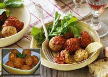 Ρεβυθοκεφτέδες με σάλτσα - Συνταγές Μαγειρικής - Chefoulis