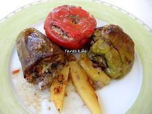 Λαχανικά γεμιστά με κιμά... ο βασιλιάς του ελληνικού καλοκαιριού.